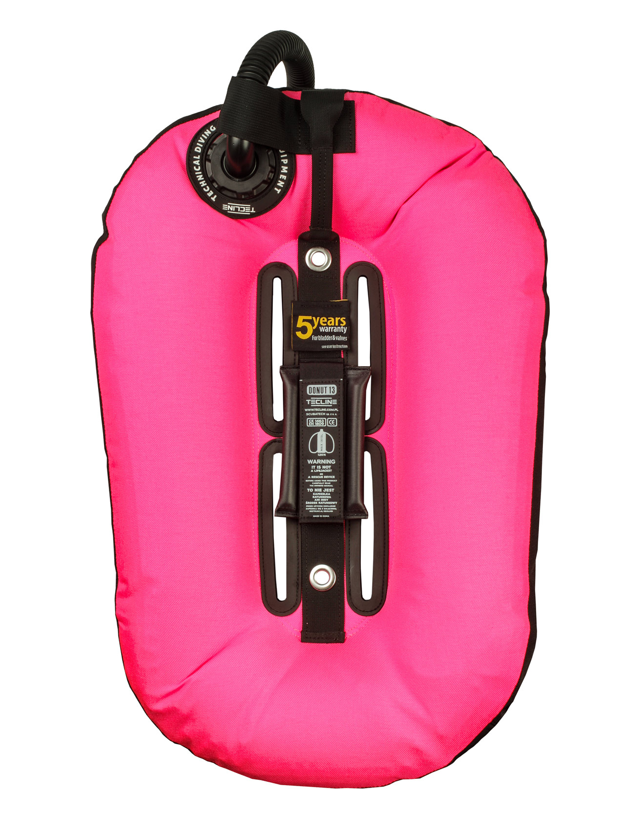 Donut 13 Pink (13kg/29lbs) for mono tank, built in mono adaptor