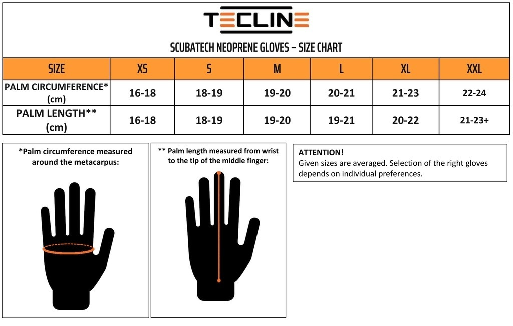 Gloves neoprene 5 mm (1) XS